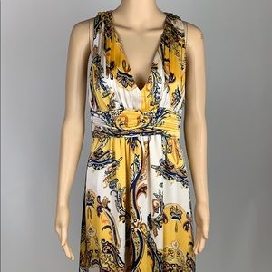 Cache Maxi Dress with Pattern